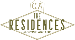 small residences at grove arcade logo